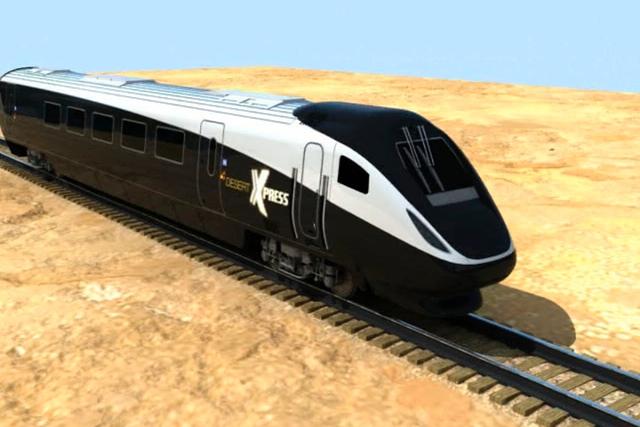 XpressWest, la empresa que impulsa los planes para construir un tren de alta velocidad entre Las Vegas y el sur de California, informó que pondría una estación junto al nuevo estadio deportivo  ...