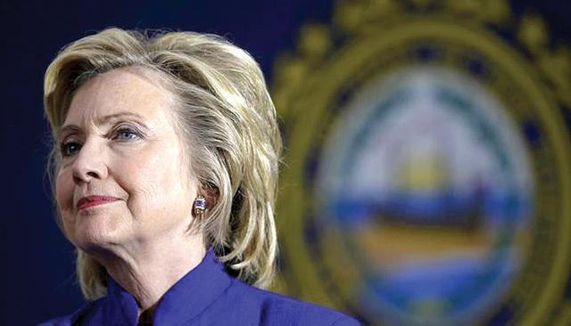 Hillary Clinton, virtual nominada demócrata por la presidencia de EE.UU.   Agencia