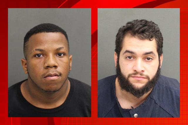 Avorice Jeno Holman, de 19 años, (izquierda) y José Ignacio Santiago Sotomayor, de 22, están detenidos sin fianza en Orlando, Florida acusados de la muerte de una adolescente y una presunta red ...