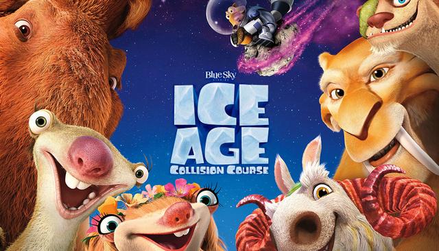 ESTRENO 07/22/16 ICE AGE: COLLISION COURSE