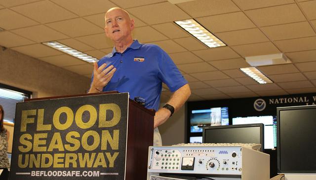 Larry Brown, director del DRCI, comentó que la temporada de inundaciones en el condado de Clark es de julio a septiembre. | Foto El Tiempo