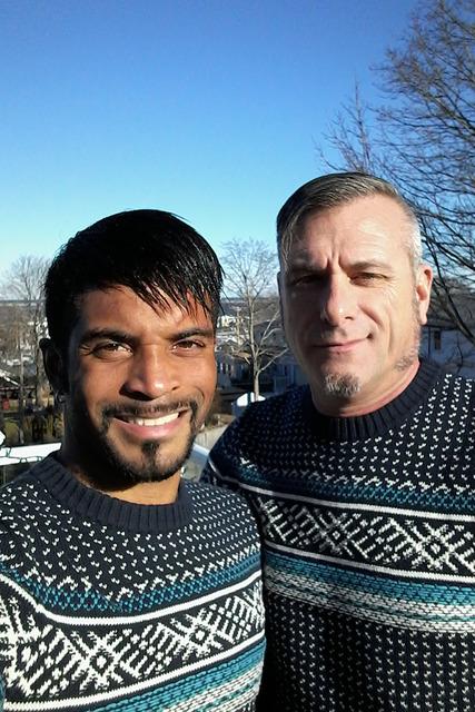 Jeff White de 31 años y Jim Foley de 54 años, piensan casarse en octubre de este año. La feliz pareja vive junta desde febrero de 2016. Fotos Cortesía