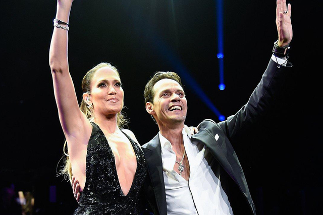 Jennifer López y Marc Anthony. | Archivo