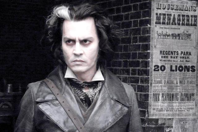 Johnny Depp en Animales fantásticos y dónde encontrarlos.