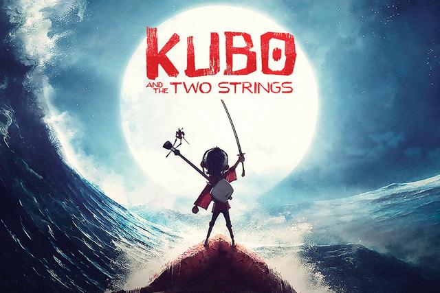 Kubo no tiene más remedio que huir y unirse a Mono y a Escarabajo para salvar a su familia.