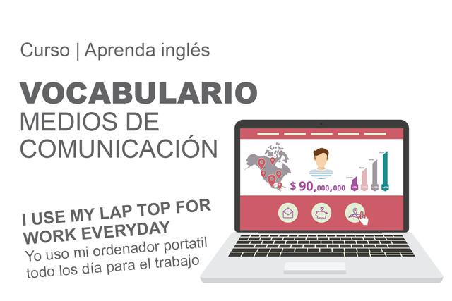 VOCABULARIO: Medios de comunicación