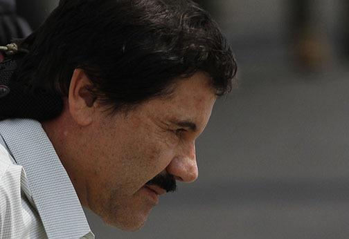"""El narcoraficante mexicano Joaquin """"El Chapo"""" Guzman, actualmente preso, será extraditado a los Estados Unidos entre enero y febrero del próximo 2017, anunció el gobierno de México. (Foto Arch ..."""