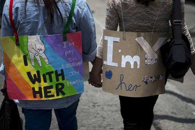 Desfile anual Gay en la Ciudad de México. | Foto Archivo AP Photo/Rebecca Blackwell.