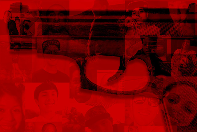 Esta foto ilustración da una idea de cómo la violencia con resultados fatales se ha incrementado en el 2016 en el valle de Las Vegas. La cuenta de homicidios hasta el 22 de octubre sobrepasó al ...