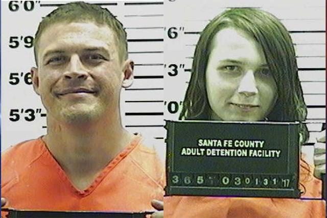 Jack Morgan, izquierda, y Samuel Brown. (Santa Fe County).