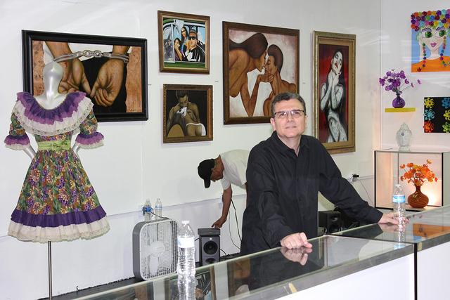 El público se dio cita para recorrer el Museo Hispano de Nevada durante su reinauguración el sábado 27 de agosto de 2016. | Foto El Tiempo/Cristian De la Rosa