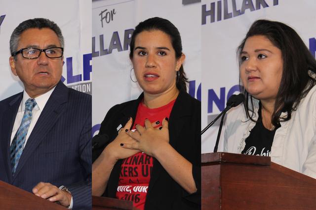 NCLR anunció su apoyo a la candidata demócrata a la presidencia, Hillary Clinton.