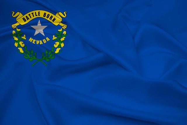 Bandera del estado de Nevada. (Foto Agencias).