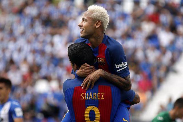 Neymar. | AP Photo/Paul White