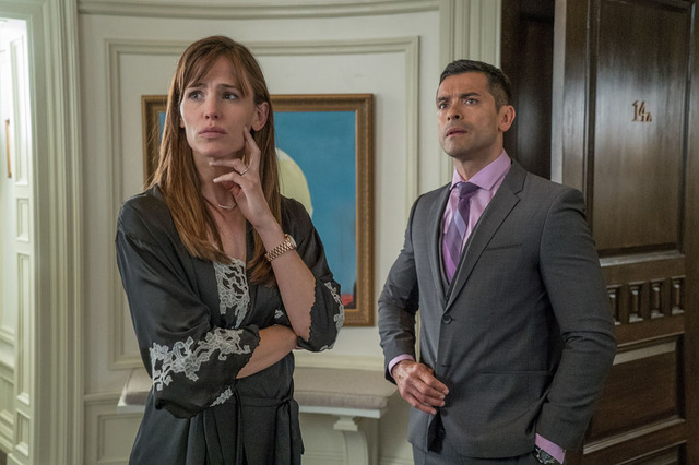 Jennifer Garner y Mark Consuelos. | Cortesía