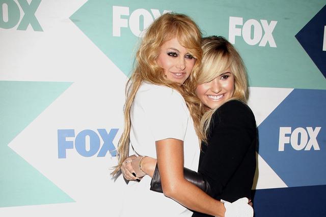 Paulina Rubio y Demi Lovato.   Foto Cortesía