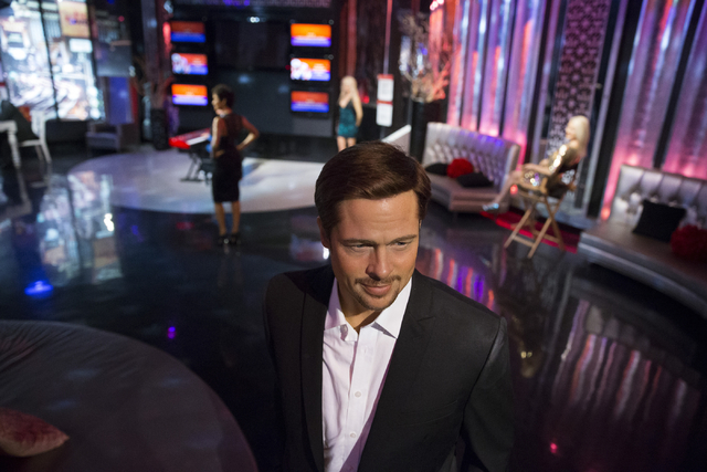 El actor Brad Pitt, inmortalizado en esta figura de cera que luce en el museo Madame Tussauds de Las Vegas, ha sido separado de la otra figura de Angelina Jolie en el mismo lugar debido a su proce ...