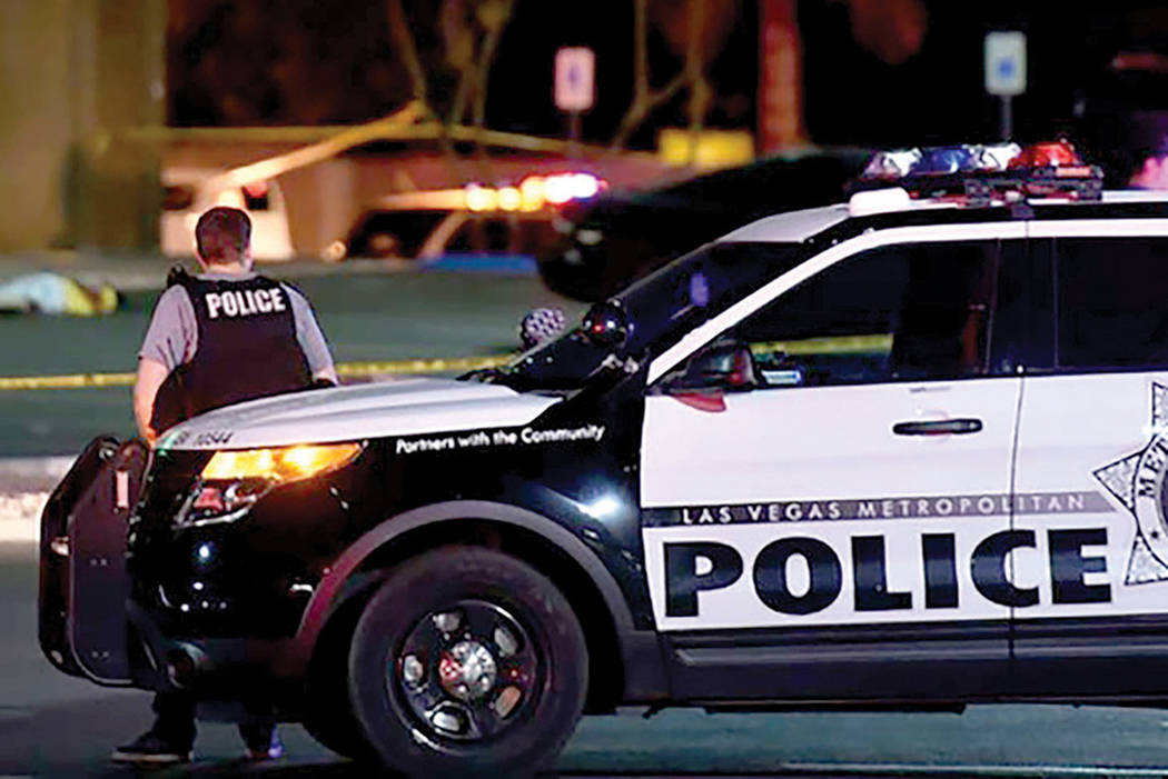 Policía Metropolitana de Las Vegas. | Foto LVRJ