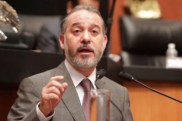 Raúl Cervantes Andrade, Procurador General de la República de México. | Cortesía