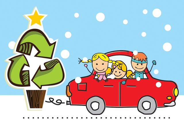 El Comité de Reciclaje de Árboles de Navidad, compuesto de agencias gubernamentales locales, organizaciones sin fines de lucro y empresas, ha trabajado para mantener los árboles de Navidad fuer ...