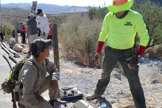 En la foto podemos apreciar algunos de los participantes trabajando bajo los rayos del sol, pero contentos. | Foto El Tiempo/Lizette Carranza