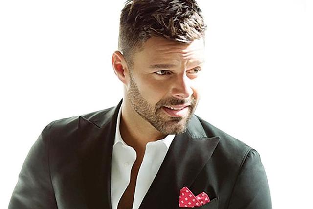 Ricky Martin.   Cortesía