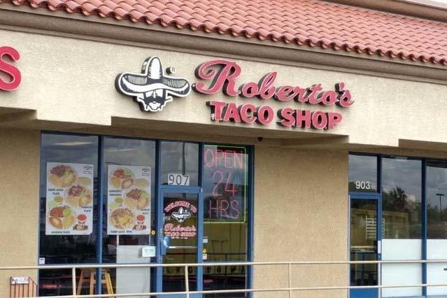 Roberto's ubicada en el 907 S. Rainbow, cerca de la avenida Charleston, al oeste del valle. (Goggle)