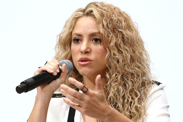 Shakira. (Photo by Greg Allen/ Invision/AP)