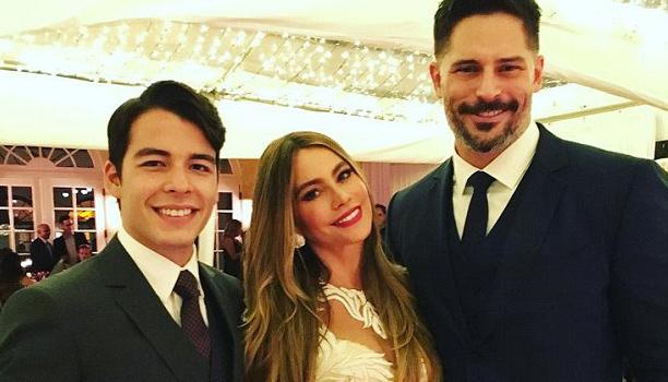 Manolo González, Sofía Vergara y Joe Manganilla. | Foto Instagram