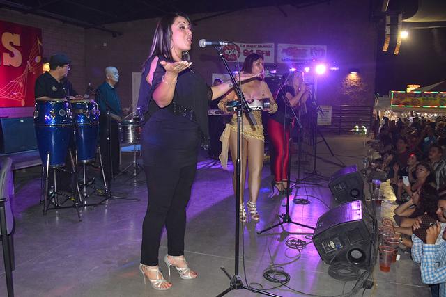 La belleza y carisma de las integrantes impero la noche del concierto. Foto el Tiempo