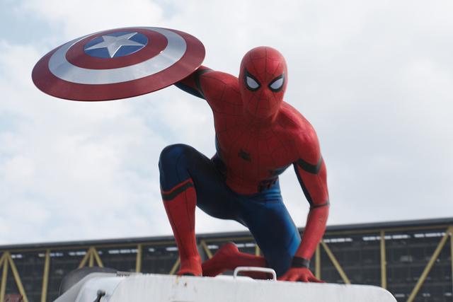 Spider-Man: Homecoming.   Cortesía