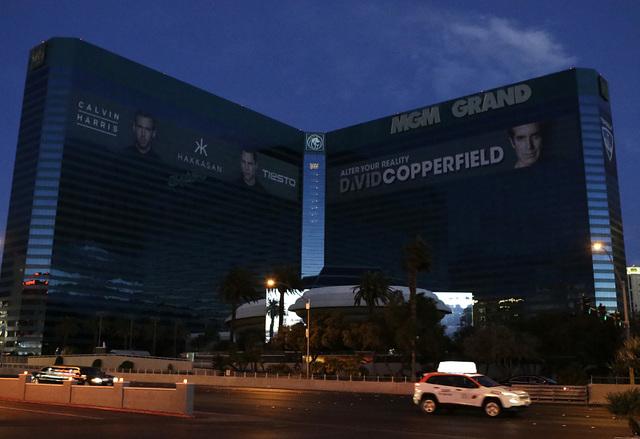 El hotel MGM Grand se quedó sin electricidad por cerca de una hora la mañana del miércoles 11 de enero del 2017. Fue restaurada a las 6:25 AM. (Bizuayehu Tesfaye/Las Vegas Review-Journal) @bizu ...