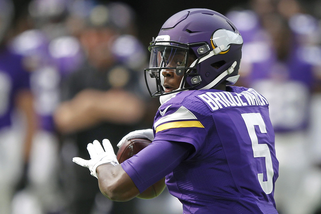 Teddy Bridgewater. | AP Photo/Andy Clayton-King