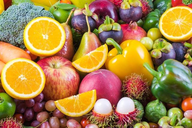 Frutas y vegetales orgánicos nutritivos para la salud (Agencias).