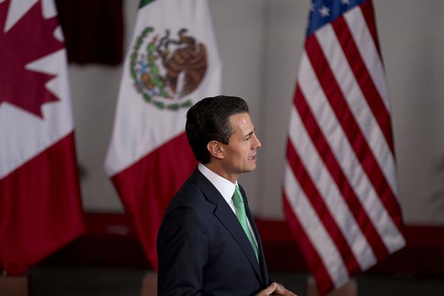 Enrique Pena Nieto.  (ARCHIVO foto AP/Eduardo Verdugo)
