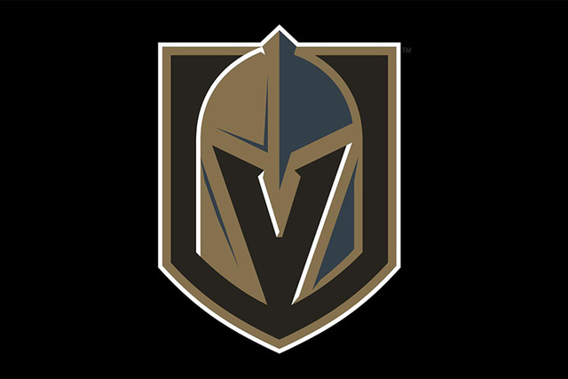 Vegas Golden Knights, el logo oficial. (NHL).