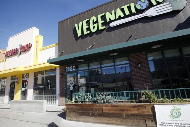 """En Las Vegas también cerraron negocios por la protesta """"Día sin inmigrantes"""". Aquí se ve el restaurante """"Vegenation"""", el jueves 16 de febrero del 2017. (Rachel Aston/Las Vegas Review-Journal) @ ..."""