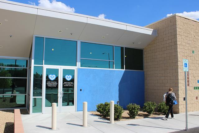 Fachada de la unidad en el 1240 N. Martin Luther King Blvd, Las Vegas, NV. 89106. | Foto El Tiempo/Cristian De la Rosa
