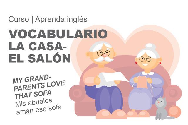 VOCABULARIO LA CASA- EL SALÓN