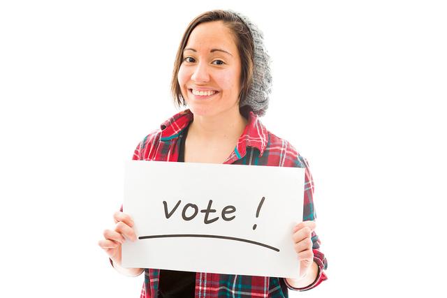 Recuerde que su voto, es su voz. No deje que otros decidan por usted