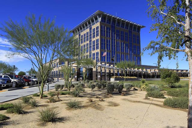 El congresista Rubén Kihuen tendrá su oficina local en el edificio de gobierno de la ciudad de North Las Vegas.    Las Vegas Review-Journal