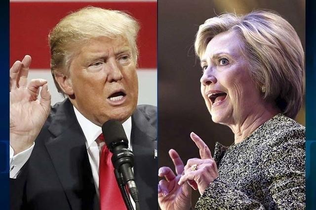 Hillary Clinton y Donald Trump se enfrentan este lunes 26 de septiembre en su primer debate. (Fotos archivo AP).