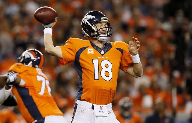 Comienza la temporada de la NFL pero ya sin el astro Peyton Manning (18), captado aqui en una foto de archivo. (AP Photo/Joe Mahoney).