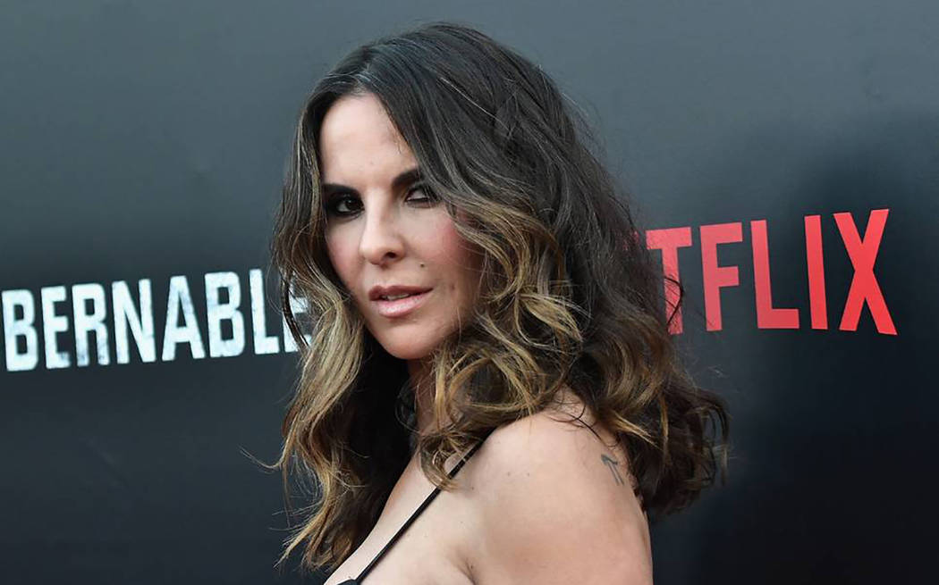 """""""Como actriz he tenido la gran oportunidad de interpretar personajes ficticios de los cuales me siento muy orgullosa"""", señaló Kate Del Castillo.   Foto Agencia"""