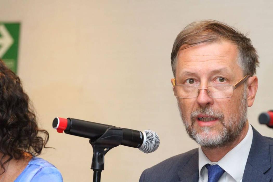 """Ya han transcurrido ocho años de la rati acción por México de la Convención Internacional para la Protección de Todas las Personas contra las Desapariciones Forzadas"""", señaló Jan Jarab, r ..."""