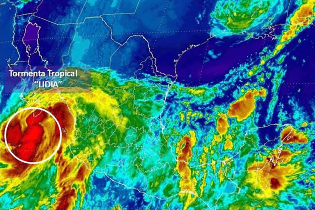 El fenómeno generó vientos sostenidos de 105 kilómetros por hora y rachas de 120 kilómetros por hora.