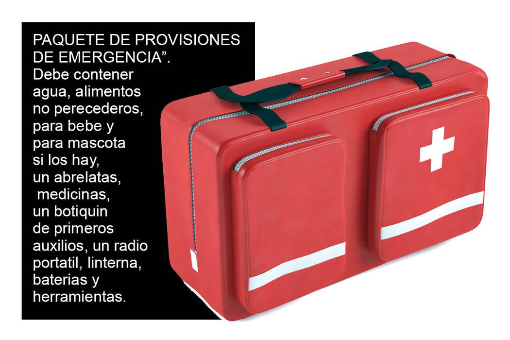Es muy conveniente tener a la mano dinero en efectivo y los documentos importantes para llevar consigo en caso de tener que evacuar el hogar.