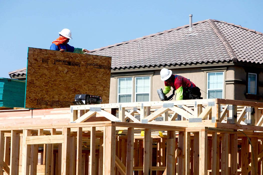 En 2018 se espera llegar a 1.351.615 empleos en Nevada.  Foto James Tensuan/Las Vegas Review-Journal.