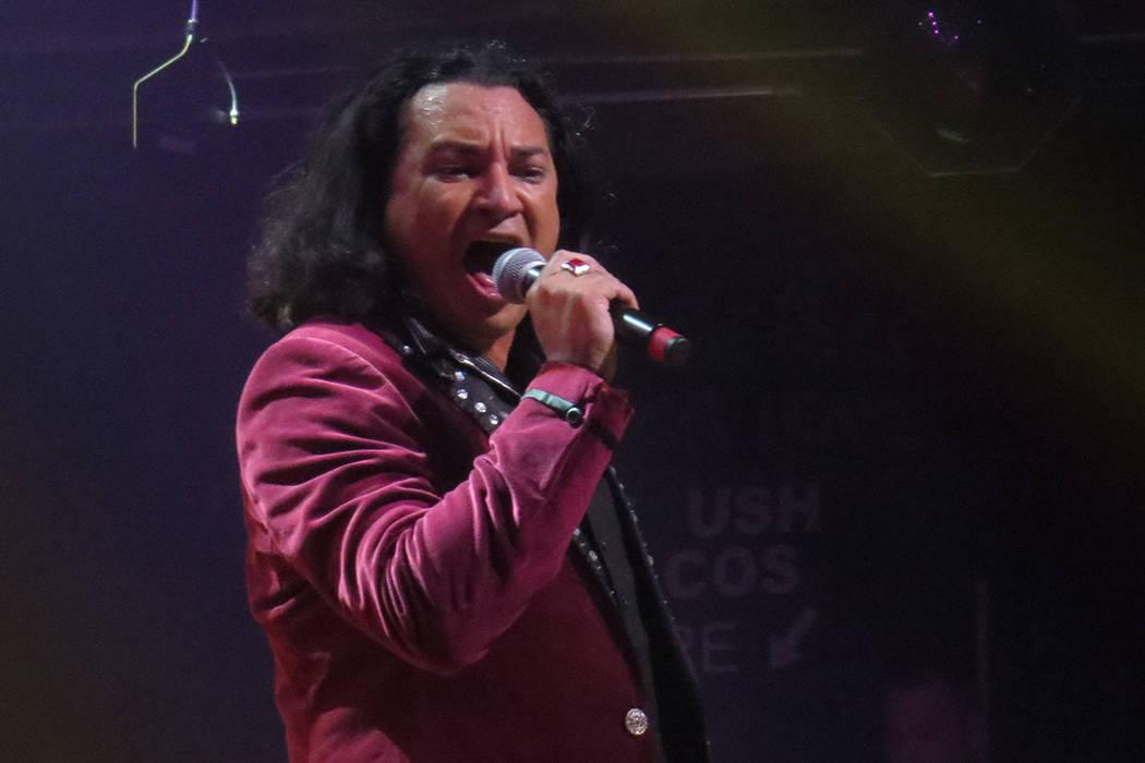 'Costumbres' y 'Te sigo amando' fueron dos de las canciones más aplaudidas de la noche. Jueves 7 de septiembre en House of Blues Las Vegas.   Foto Anthony Avellaneda / El Tiempo.