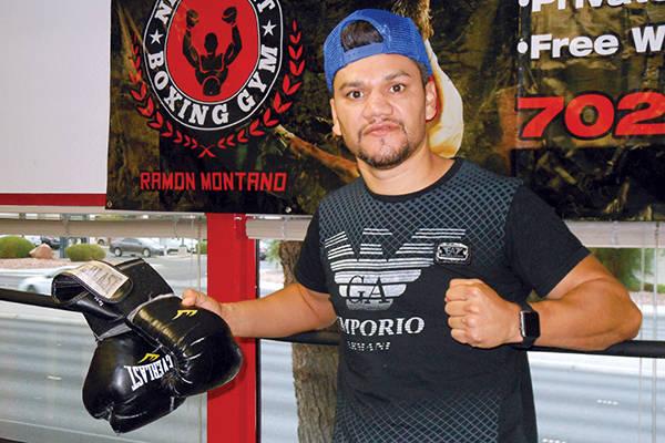 El exboxeador Ramón Montaño, ex sparring del campeón Mayweather Jr. ahora entrena y ayuda a la recuperación de adictos.   Foto Valdemar González / El Tiempo.